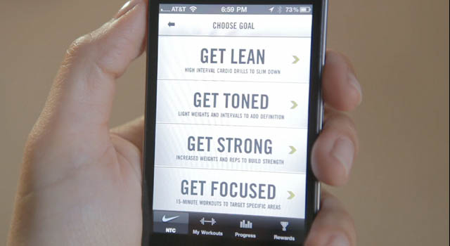 Nike training app for weight loss
