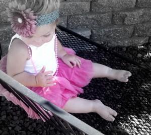 tutu, little girl, black and white