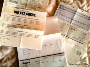Free Money from Survey Checks