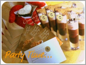 Dove chocolate party invites