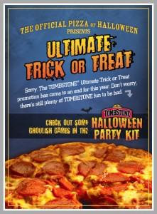 Tombstone Pizza Halloween Party Kit