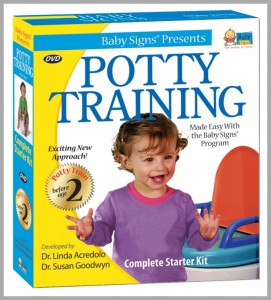 Baby Sign Potty Training Set