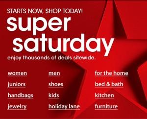 Macy's Super Saturday Sale