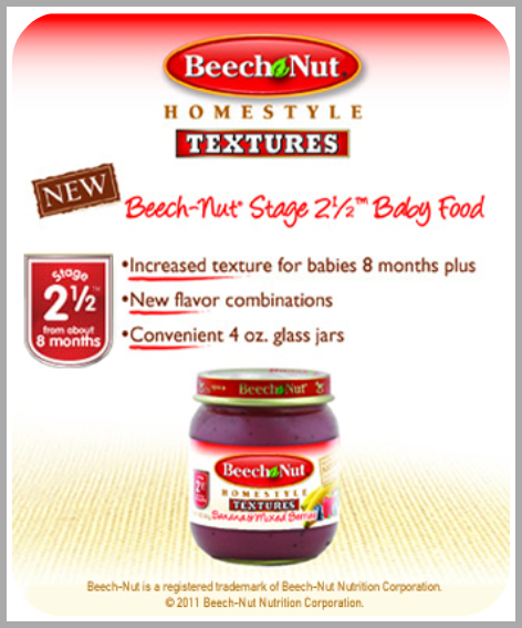 Beech Nut Baby Food