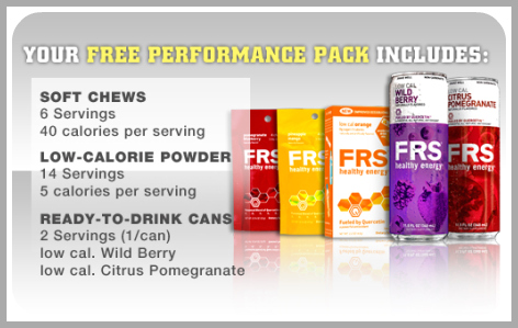 FRS Energy Products Free Sample