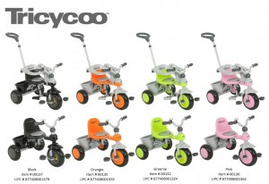 Joovy Tricycoo Collection