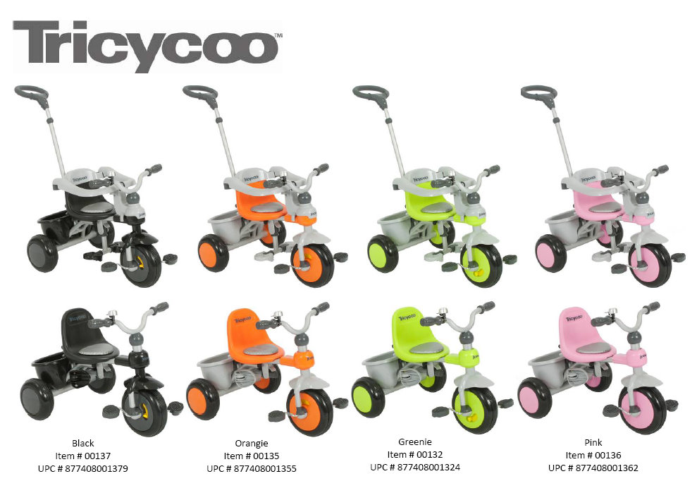 Busy Mom Solution Tricycoo Is Stylish Affordable And Fun