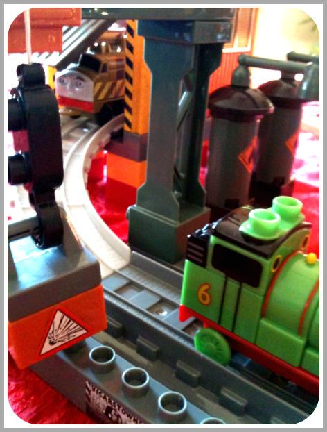Thomas & Friends Mega Bloks set