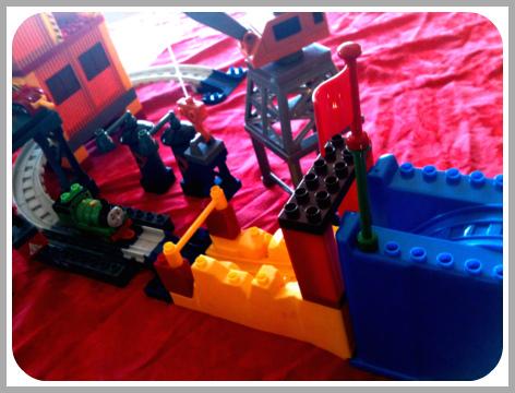 Thomas Mega Bloks toy sets