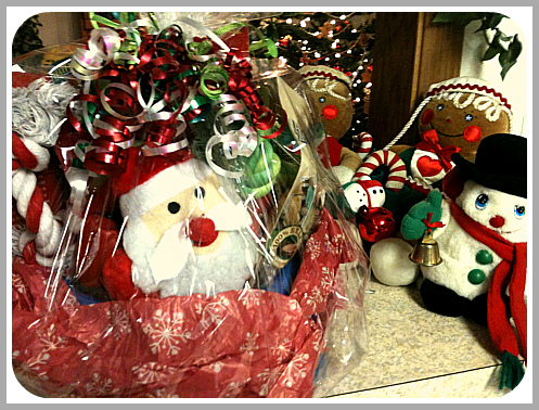 Puppy Holiday Gift Basket