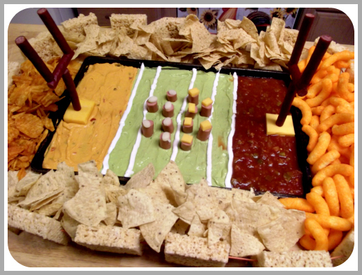 Football Stadium Made Of Food Recipe