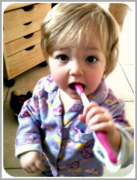 Toothbrush and Toddler