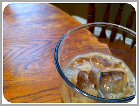 Iced Coffee for Mom
