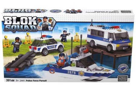 Mega Blocks Police