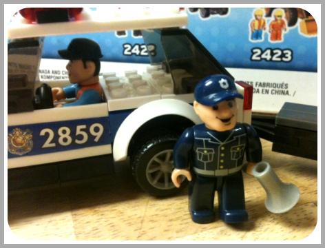 Mega Bloks Police Set