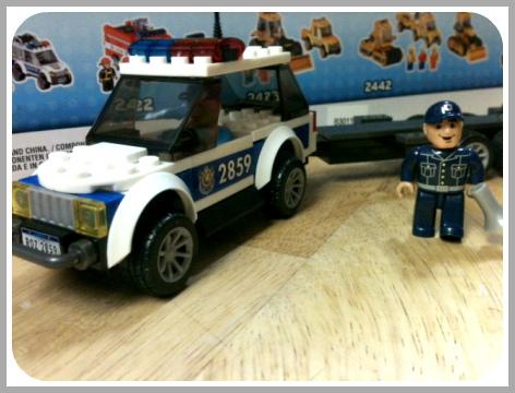 Mega Bloks Police Car