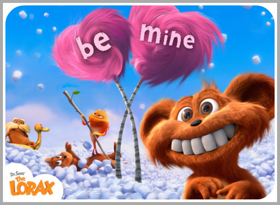 Valentine's Day Printables, Lorax, Dr. Seuss