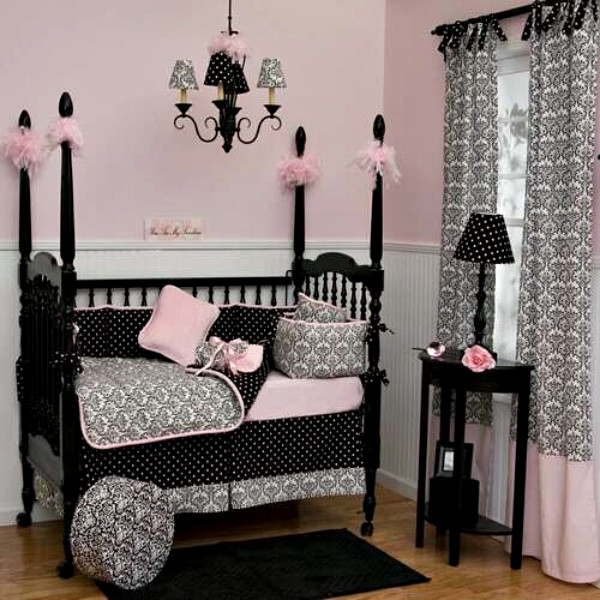 carousel designs baby girl crib bedding