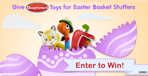 Busytown, Easter Basket, Giveaway