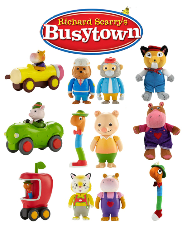 Busytown toys for Easter baskets