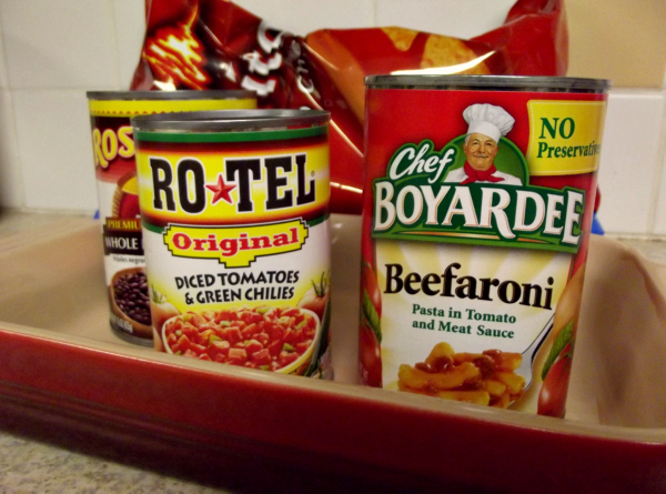 Cooking with Chef Boyardee, recipes, food/cooking