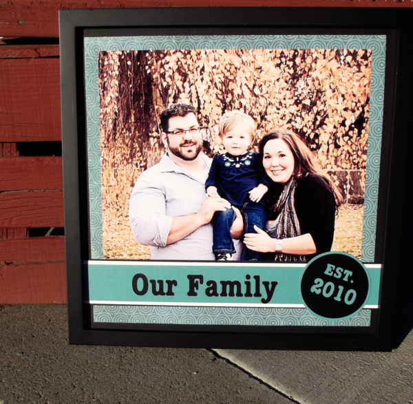 affordable photo art, personalized family photo