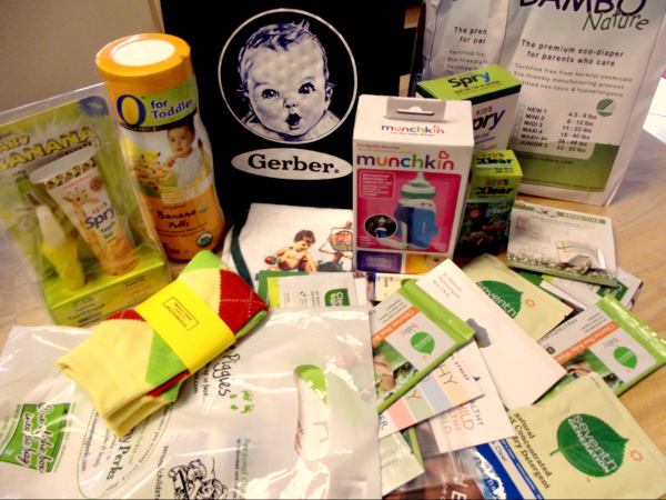 baby gift package prize