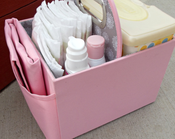 Diaper Caddy for new babies