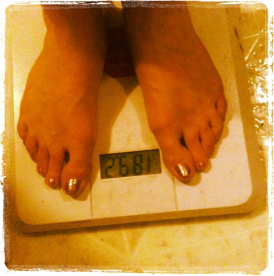 My starting weight
