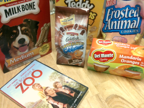 making a family movie night to feed my zoo