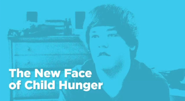 new face of child hunger in America