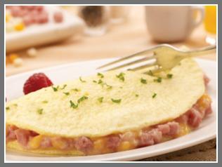 Nutrisystem Ham & Cheese Omelet