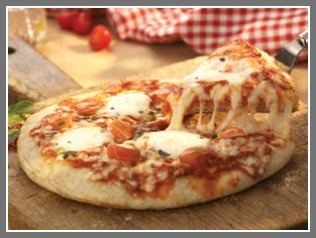 Nutrisystem Margherita Pizza