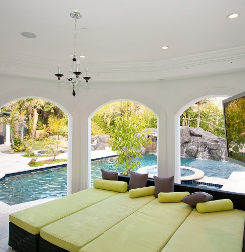 poolside seating ideas