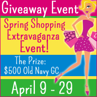 Spring Shopping - $500 Old Navy Gift Card Giveaway