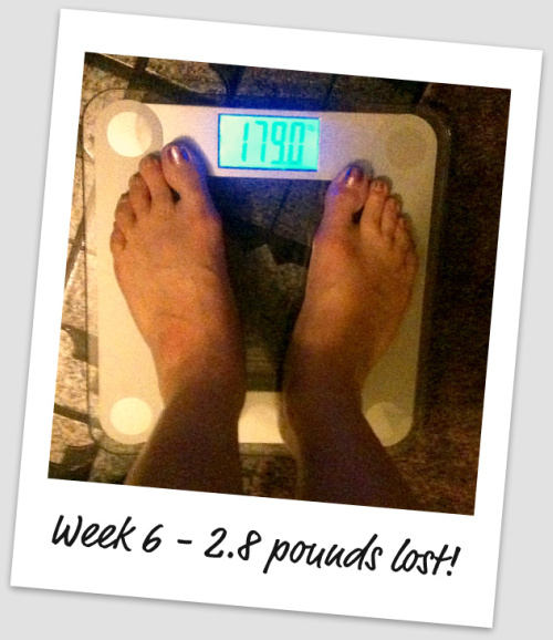 weight loss results on week 6 with nutrisystem