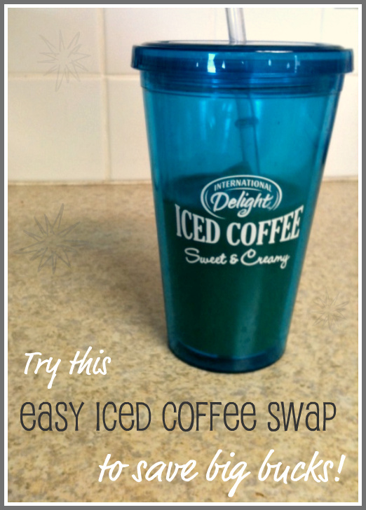 iced coffee on a budget