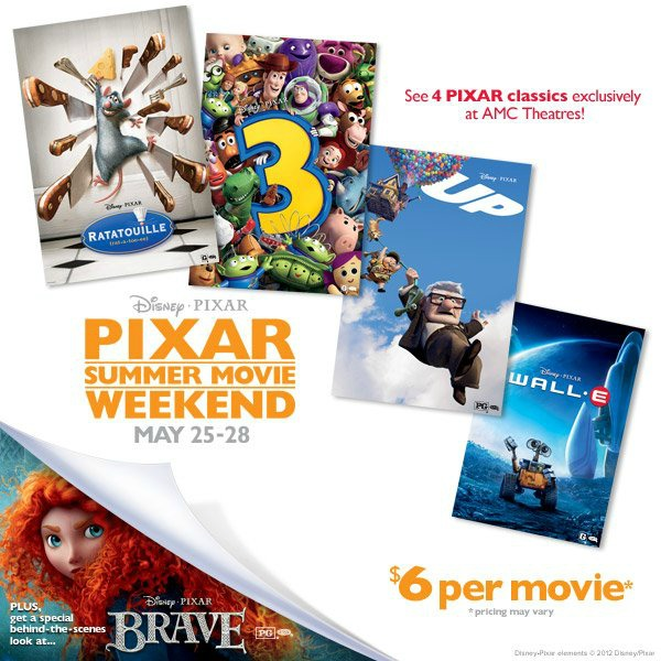 AMC Pixar Weekend