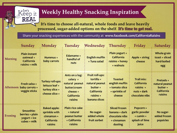 smart snacking for kids