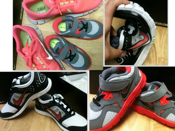 #NikeKids Nike Free shoes