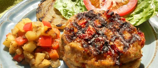 low fat turkey burger