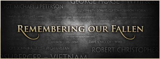 Memorial Day: remembering the fallen