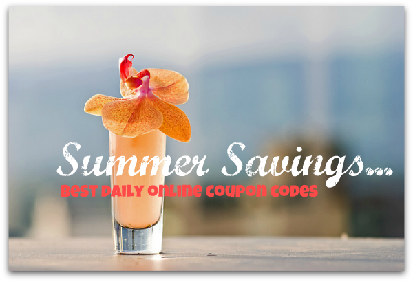summer savings with online coupon code