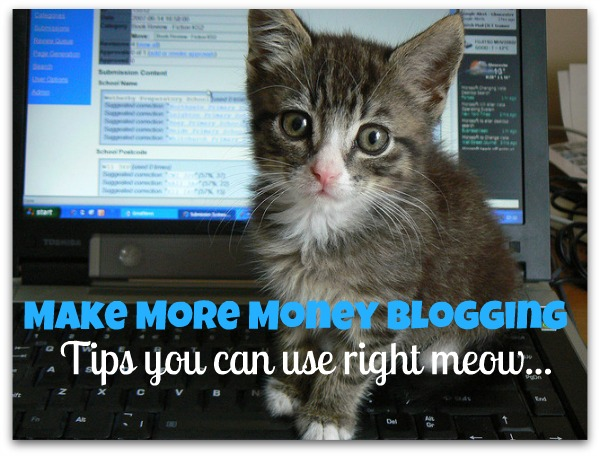 make more money blogging