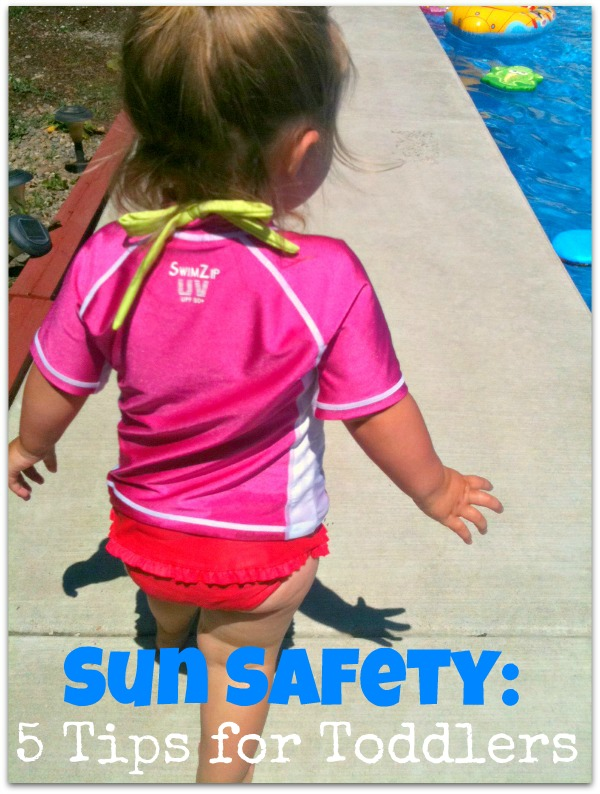 great products for toddler sun safety