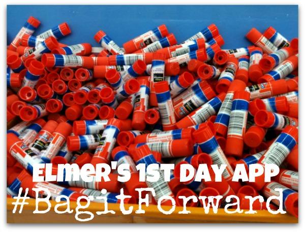 #BagitForward - Elmer's 1st Day App