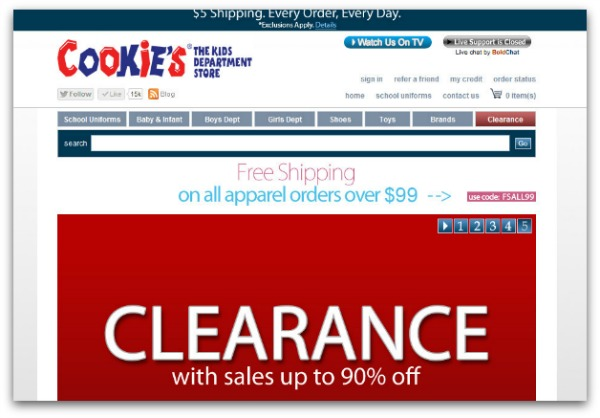 clearance and deals on kids clothes
