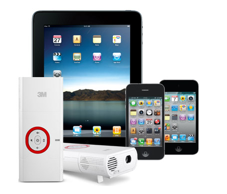 projector for iphone and apple products