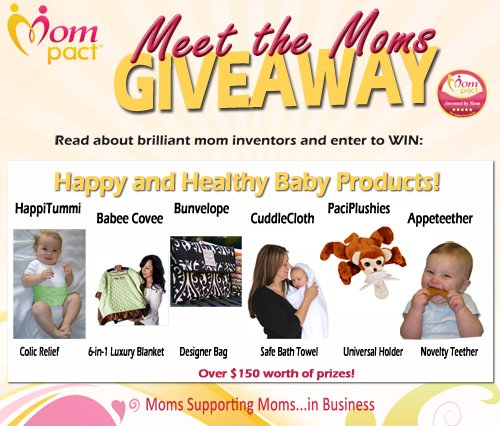 Keeping Baby Happy & Healthy: $150 Prize Package! #Mompact
