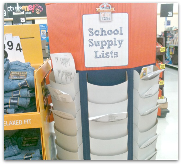 school supply lists for back to school